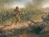 Britský voják se sám vrhl proti přesile tálibánců, aby zachránil své spolubojovníky