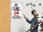 Jak zabránit násilí? Bezzbraňové zóny!