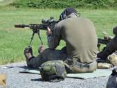 Český policista z cizinecké policie vyhrál policejní mistrovství ve střelbě z odstřelovací pušky