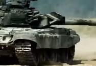 Ruská a srbská armáda v akci