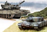 Leopard 2 vs T-80/90