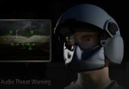3D prostorový zvuk pro bojové piloty