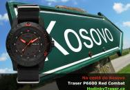 Hodinky Traser Red Combat pojedou na testy do Kosova