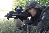Útočná puška ČZ 805 Bren v akci
