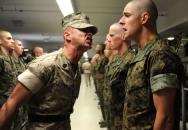 Český voják v kurzu americké námořní pěchoty USMC