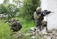 Boj v uzavřených prostorech (CQB) - výcvik AČR