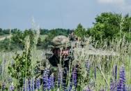 Výcvik čety AZ 72.mpr Přáslavice-příprava na BOS praporu