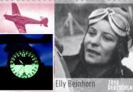 Letecké hodinky Luftwaffe ME 108 TAIFUN na počest Ellie Beinhornové