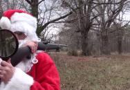 I Santa umí střílet