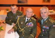 Poslední žijící parašutista shozený do protektorátu oslavil 93. narozeniny