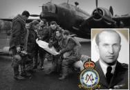 Pozvánka na vzpomínku na letce RAF Václava Hořejšího