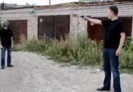 Test neprůstřelné helmy na ruský způsob