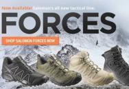 Špičková vojenská obuv od firmy Salomon konečně v ČR