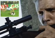 Fotbalový sniper aneb komedianti na hřišti