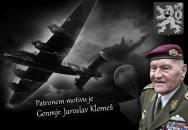 Genmjr. Jaroslav Klemeš se stal patronem trička českých parašutistů