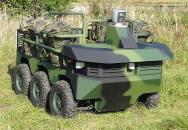 Podpůrný robot pro AČR TAROS V2 6x6