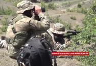 Ruské speciální jednoty při přestřelce v Dagestánu HD záběry!
