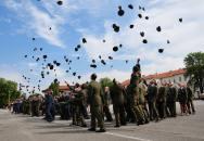 Slavnostní vyřazení vojenských  absolventů Univerzity obrany