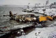 Německý druhoválečný stíhač Messerschmitt Bf 109 nalezen v ruském jezeře