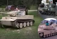 Kdo si hraje, nezlobí aneb špičkové podomácku vyrobené funkční zmenšeniny tanků
