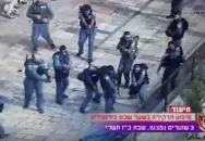Palestinec, který nožem napadl izraelského vojáka, skončil velmi rychle a velmi špatně