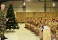 Ne každý může Vánoce slavit doma aneb jak je slaví naši vojáci