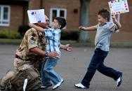 Nečekané návraty vojáků domů