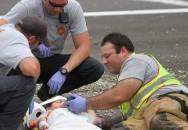 Důvtipný hasič zachránil vážně zraněnému chlapci život