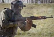 Sebevznícení aneb extrémní zátěžový test AK-47