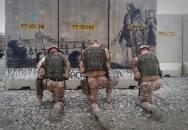 Ostrahu bagrámské letecké základny nyní střeží chlapi 4. brigády rychlého nasazení