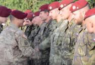 Naši borci na cvičení SKY SOLDIER II