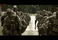 Sestřih z výcviku 1. výsadkové roty, 43. výsadkového praporu.