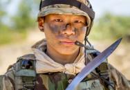 Gurkhský příšlušník SAS doslova rozsekal 3 bojovníky ISIS svým nožem kukri