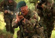 Ti, jenž přicházejí z moře.... Royal Marines Commando