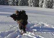 Střelecké polohy v zimním terénu (skialp)