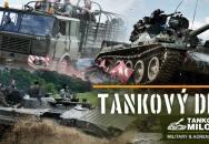 Tankový den v Milovicích - rekordní počet tanků T-34 v akci a mnoho dalšího