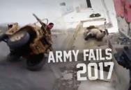 ARMY FAILS 2017 aneb i v armádě se občas něco nepodaří :)