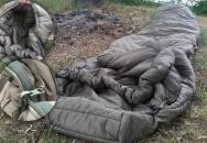 Mumiový spacák od Snugpaku se fakt osvědčil