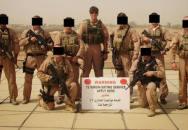 Britský voják utopil bojovníka Islámského státu v kaluži
