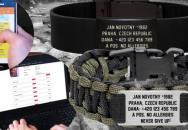 Body ID - náramek, který může pomoci zachránit život