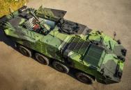 Samohybný minomet na podvozku Pandur II 8x8 CZ se představil na Dnech NATO