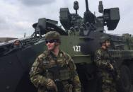 Den s armádou Praha 2017 na Letenské pláni