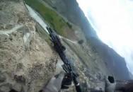Jak voják US ARMY kulometnou palbu Talibanu  přežil
