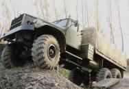 KRAZ 255B - ruský obr