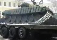 Jo, řídit tank není sranda...