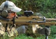 Německá armáda testuje kulomety HK121