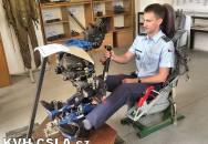 Výstava letecké výstroje pilotů čs. armády