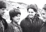 Ruské vojačky ve 2. světové válce