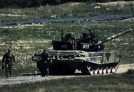 Test tanku T-72 M4CZ