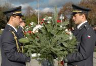 Připomenutí Dne válečných veteránů v Brně